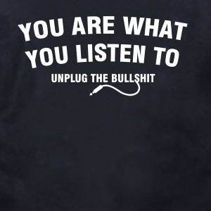 letras camiseta you are what you listen to