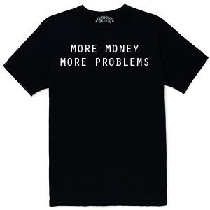 camiseta more money more problems